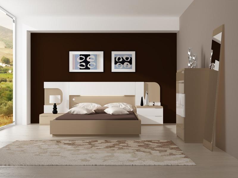Promociones Dormitorios Modernos Fontana Mobiliario Y Decoracion - Modelos-de-dormitorios-modernos