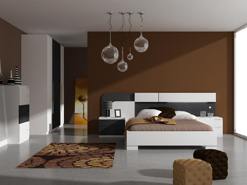 Promociones dormitorios modernos fontana mobiliario y for Dormitorios modernos precios