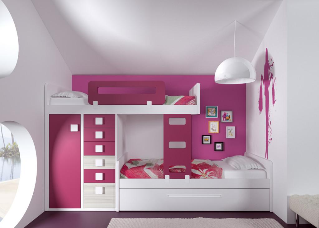 Nueva colecci n de mueble juvenil aire kids fontana - Camas modernas para jovenes ...